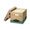 Bankers Box Recycled File Box, Letter/Legal, Paper, 12