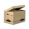 Bankers Box Stor/File Box w/Lid, Letter/Legal, Paper, 1