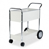 Fellowes Steel Mail Cart, 150-Folder Capacity, 20-1/2 x