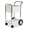 Fellowes Steel Mail Cart, 75-Folder Capacity, 20-1/2 x