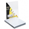 Fellowes Transparent PVC Binding System Covers, 8 3/4