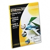 Fellowes Clear Laminating Pouches, 3mm, 9 x 11-1/2, 100