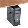 Fellowes Under Desk CPU Holder, 17w x 12d x 11h, Black