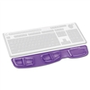 Fellowes Gel Keyboard Palm Support, Purple # FEL9183601