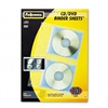 Fellowes Vinyl CD/DVD Refill Sheets for Three-Ring Bind