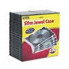 Fellowes Thin Jewel Cases, Clear, 100/Pack # FEL98335