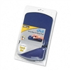 Fellowes Gel Mouse Pad w/Wrist Rest, 6-1/4 x 10-1/8, Sa