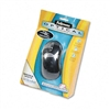 Fellowes Optical Mouse, Antimicrobial, Five-Button/Scro