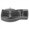 Fellowes Ergonomic Split-Design Keyboard w/Antimicrobia