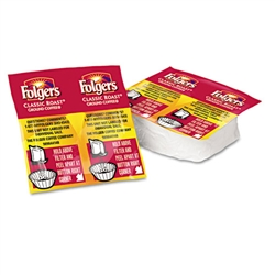 Folgers Coffee Premeasured Packs, Classic Roast Regular
