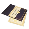 Geographics Ivory/Gold Foil Embossed Award Cert. Kit, B