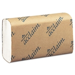 Georgia Pacific Acclaim Folded Paper Towel, 9-1/4 x 9-1