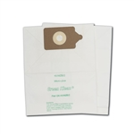 Nacecare (N.A.C.E.) & Numatic Charles/George, NVH300 Series, NVQ300 Series, PSP300 Series, PVR300 Series replacement vacuum bags, 100 (10 / 10 packs) , OEM #604102, NVM 2B, 60416, GK-NVM2B/2