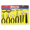 Great Neck 8-Piece Steel Pliers & Wrench Tool Set # GNS