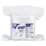 Purell® Sanitizing Wipes, 6 x 8, White, 1200/Refill Pouch, 2/Carton # GOJ911802