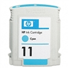 HP C4836A (HP 11) Ink, 2350 Page-Yield, Cyan # HEWC4836