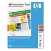 HP Laser Presentation Paper, Glossy White, 32lb, 11 x 1