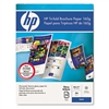 HP Tri-Fold Color Laser Brochure Paper, Glossy, 8-1/2 x