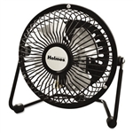 Holmes® Mini High Velocity Personal Fan, One Speed, Black # HLSHNF0410ABM