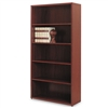 HON 10500 Series Bookcase, 5 Shelves, 36w x 13-1/8d x 7