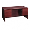 HON 10500 Series Double Pedestal Desk, 60w x 30d x 29-1