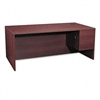 HON 10500 Series Right Pedestal Desk, 72w x 36d x 29-1/