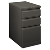 HON Flagship Mobile Box/Box/File Pedestal, Full Radius