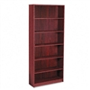 HON 1890 Series Bookcase, 6 Shelves, 36w x 11-1/2d x 84