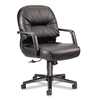 HON Leather 2090 Pillow-Soft Series Managerial Mid-Back