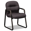 HON 2090 Pillow-Soft Series Guest Arm Chair, Black Upho