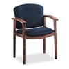 HON 2111 Invitation Series Wood Guest Chair, Mahogany/S