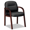 HON 2190 Pillow-Soft Wood Series Guest Arm Chair, Mahog