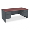 HON 38000 Series Double Pedestal Desk, 72w x 36d x 29-1