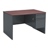 HON 38000 Series Right Pedestal Desk, 48w x 30d x 29-1/
