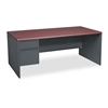 HON 38000 Series Left Pedestal Desk, 72w x 36d x 29-1/2