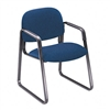 HON Solutions Seating Sled Base Guest Chair, Olefin, Bl