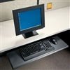 HON Laminate Keyboard Platform, Black # HON4022P