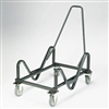 HON GuestStacker Cart, 21-3/8 x 35-1/2 x 37-7/8, Black