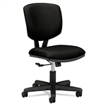HON Volt Series Task Chair, Polyester, Black Fabric # H
