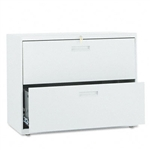 HON 500 Series Two-Drawer Lateral File, 36w x28-3/8h x1