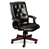 HON 6540 Series Executive High Back Swivel Chair, Black