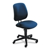 HON 7700 Series Swivel Task Chair, Olefin Fabric, Blue
