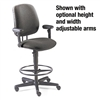 HON 7700 Series Swivel Task Stool, Olefin Fabric, Gray