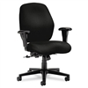 HON 7800 Series Mid-Back Task Chair, Tectonic Black # H