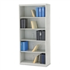 HON 600 Series Jumbo Open File, 5-Shelf, Steel, Legal,