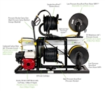 IPC Eagle Ultra Pure Hydro Station Black Frame, 1 Single RO with Gas Engine and Pump Assembly Only HS-1
