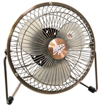 "Ventamatic MaxxAir 6"" High Velocity Desk Fan with USB Plug Option # HVDF6"