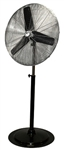 "Ventamatic MaxxAir Heavy Duty Pedestal Fan, 30"" Blade - Oscillating 90 Degree Tilt - Ht Ext 84"" - 3 Speed # HVPF30OSC"