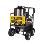 BE Pressure HW4013HG 4000 PSI Hot Water Pressure WASHER, 4 GPM, 389cc, Honda GX390, Electric Start