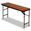 Iceberg Premium Wood Laminate Folding Table, 72w x 18d,